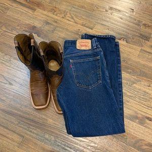 Levi's 505 regular fit jeans 32x32